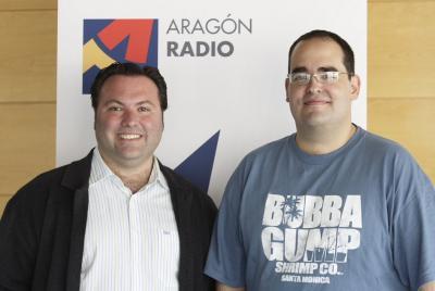 ARAGÓN  RADIO, MENÚ DEL DÍA DE SAN JORGE
