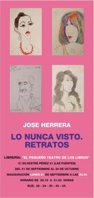 RETRATOS DE JOSE HERRERA