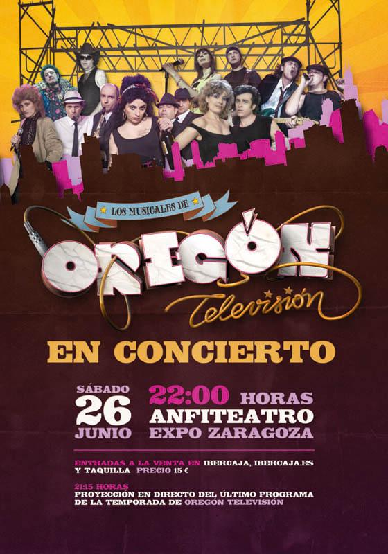'OREGÓN MUSICAL', EN EL ANFITEATRO